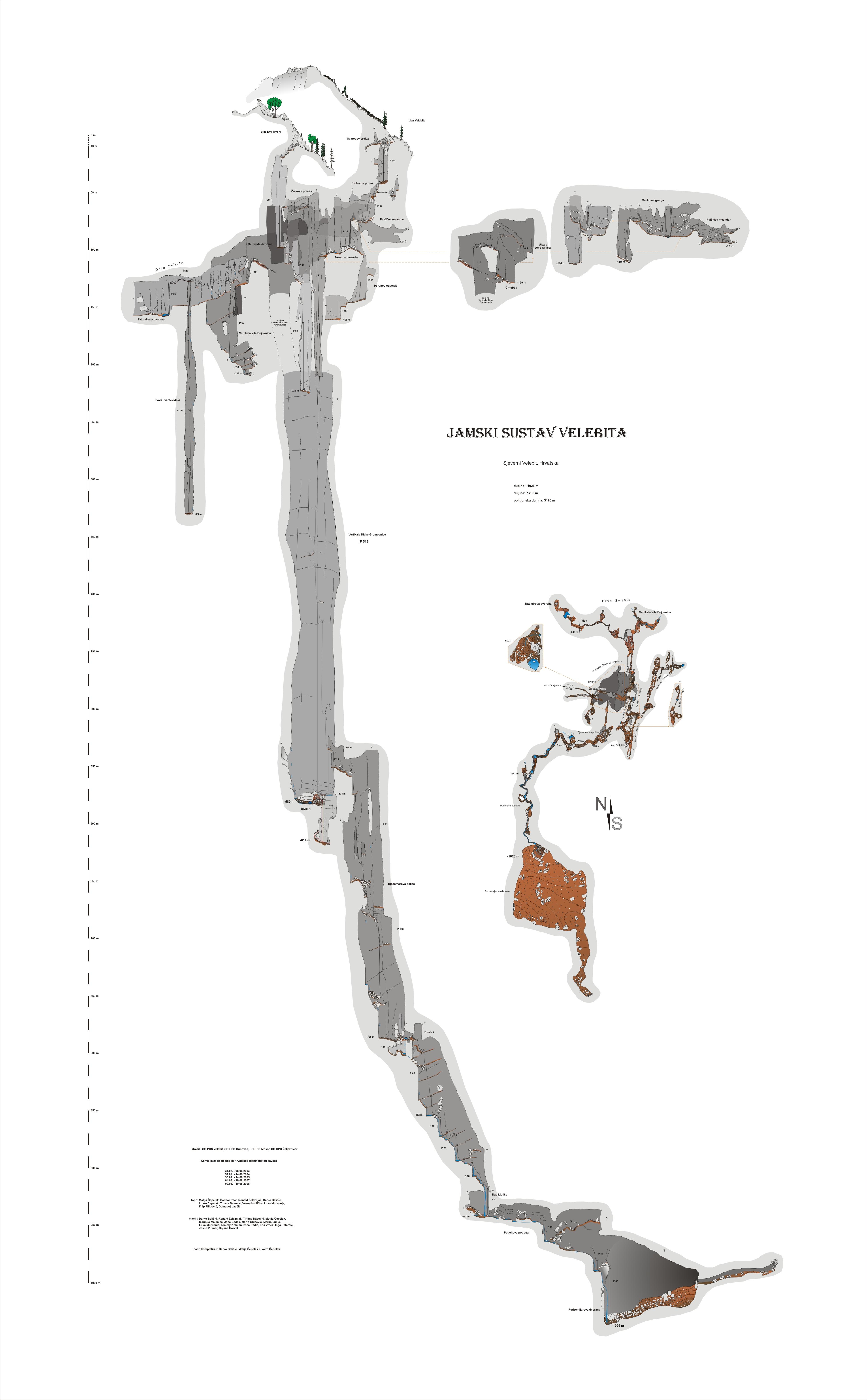Jama Velebita-najveća podzemna vertikala na svijetu